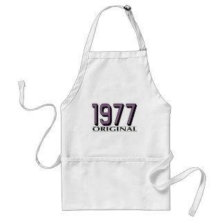 Original 1977 delantal