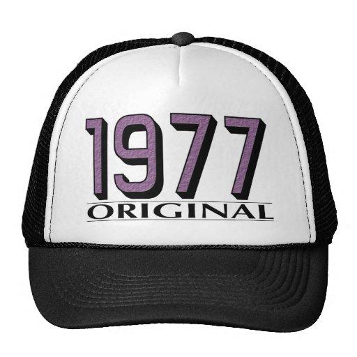 Original 1977 gorras de camionero