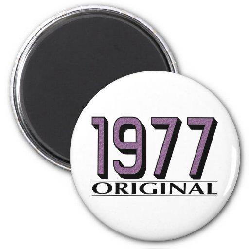 Original 1977 imán de nevera