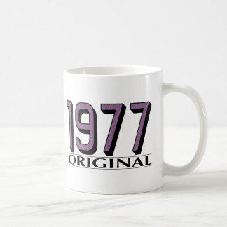 Original 1977 taza de café