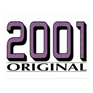 Original 2001 tarjetas postales