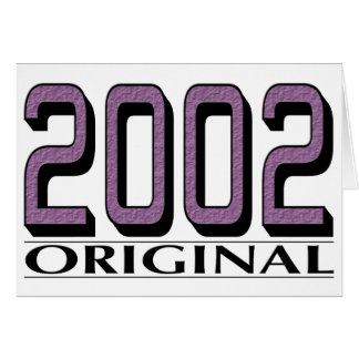 Original 2002 felicitacion