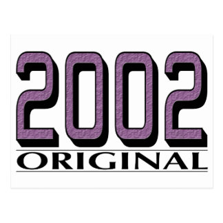 Original 2002 postales
