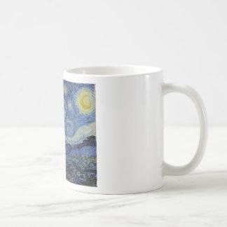Original la pintura de la noche estrellada taza de café