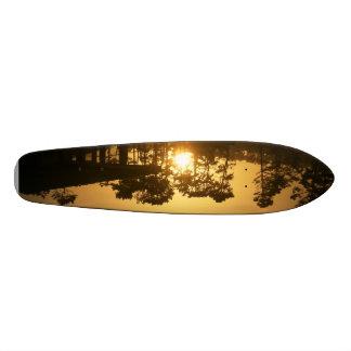Original Skatebpard de la puesta del sol de Santa Tabla De Skate