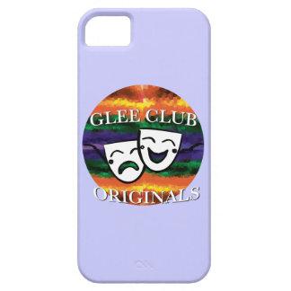 Originales del club de júbilo: Coloree su insignia iPhone 5 Fundas