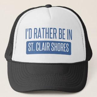 Orillas del St. Clair Gorra De Camionero