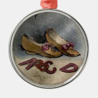 Ornamento 1885 del navidad de los zapatos de la ch ornamentos de navidad