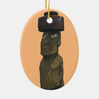 Ornamento 1 del navidad de Moai