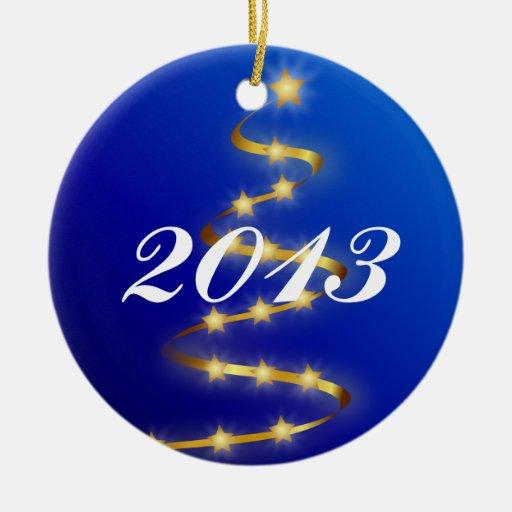 Ornamento 2013 del árbol de navidad adornos de navidad