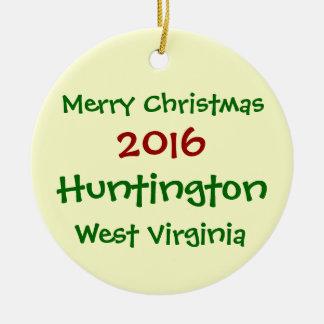 ORNAMENTO 2016 DEL NAVIDAD DE HUNTINGTON VIRGINIA