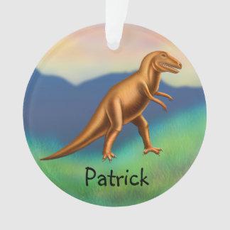 Ornamento adaptable del dinosaurio de Rex del