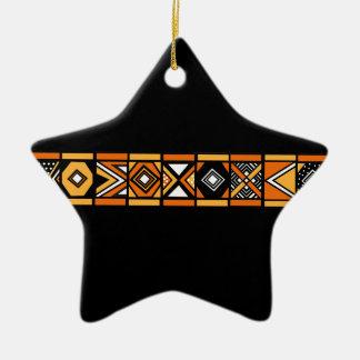 Ornamento africano del negro del modelo adornos de navidad