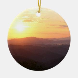 Ornamento ahumado del árbol de navidad de la