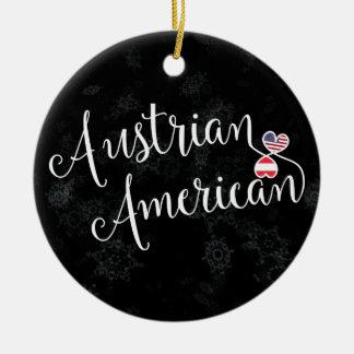 Ornamento americano austríaco del árbol de navidad