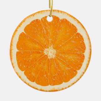 Ornamento anaranjado de la fruta cítrica adorno