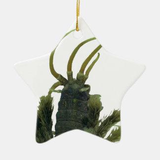 Ornamento asteroide del navidad del gusano de adornos de navidad