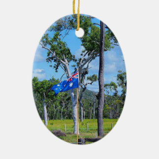 Ornamento australiano de la bandera