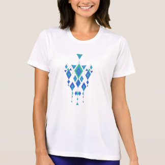 Ornamento azteca tribal étnico del vintage camiseta
