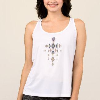 Ornamento azteca tribal étnico del vintage camiseta de tirantes