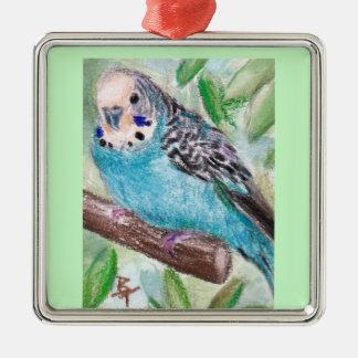Ornamento azul del Parakeet