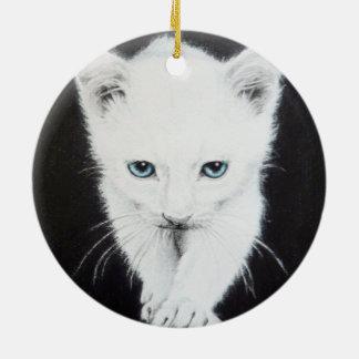 Ornamento blanco lindo del arte del lápiz del ornato