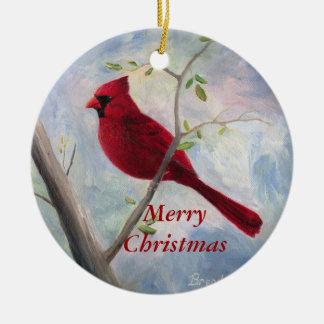 Ornamento cardinal del navidad