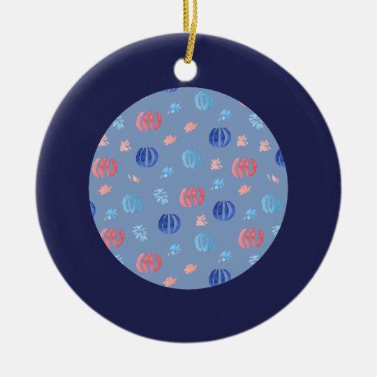 Ornamento chino del círculo de las linternas