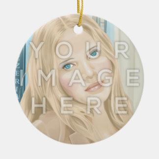 Ornamento circular de la imagen de la foto de