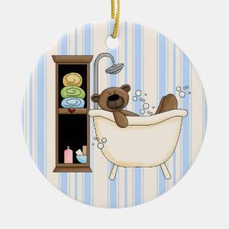 Ornamento colgante del cuarto de baño ornaments para arbol de navidad
