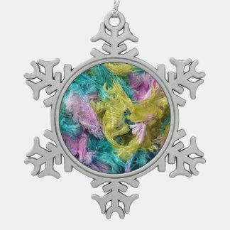 Ornamento colorido borroso del navidad del modelo adorno