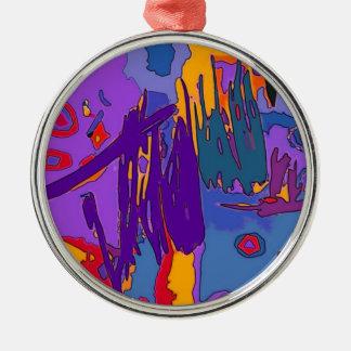 Ornamento colorido brillante del arte abstracto