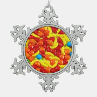 Ornamento colorido del navidad del caramelo de la adornos