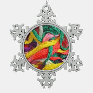 Ornamento colorido del navidad del modelo del adorno