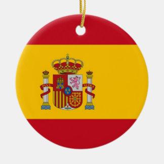 Ornamento con la bandera de España