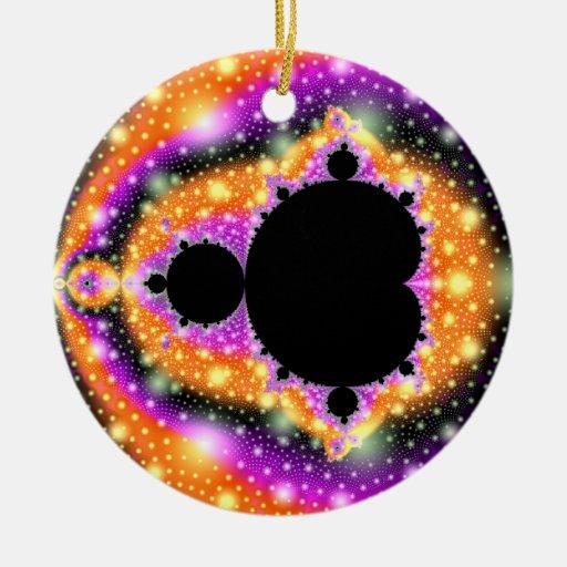 Ornamento cósmico de la fruta ornamento de reyes magos