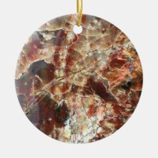 Ornamento cristalino del modelo del rojo y del
