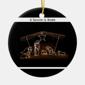 Ornamento cristiano religioso del navidad - ornamentos de reyes