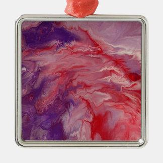 Ornamento cuadrado superior del arte abstracto