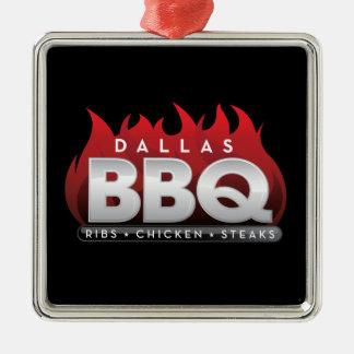 Ornamento cuadrado superior del Bbq de Dallas