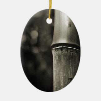 Ornamento de bambú b w ornaments para arbol de navidad