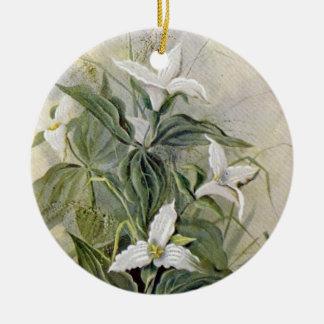 Ornamento de cerámica botánico el | del Wildflower