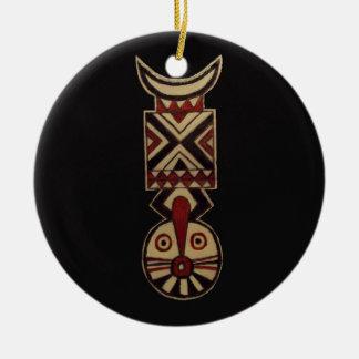 Ornamento de cerámica de Bwa del africano de la de Adorno Para Reyes