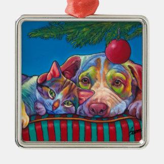 Ornamento de Cuddlers del navidad por las