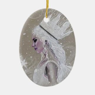 Ornamento de hadas del árbol de Queenchristmas del
