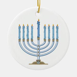 Ornamento de Jánuca Menorah Adorno De Navidad
