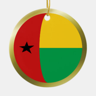 Ornamento de la bandera de Guinea-Bissau Adorno