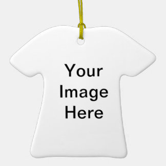 Ornamento de la camiseta ornamento de navidad