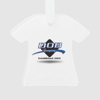 Ornamento de la camiseta del Co. de la ropa del