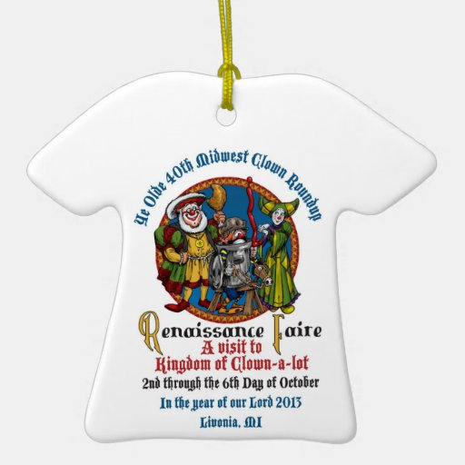 Ornamento de la camiseta del MCA 40.o Adorno